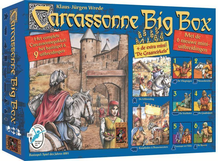 nieuwe tijd spel bord carcassonne