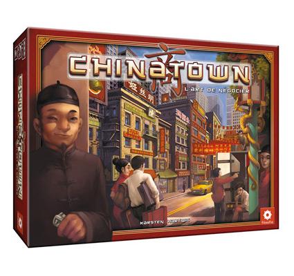 nieuwste tijd spel bord chinatown