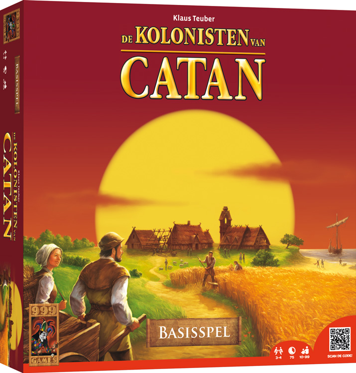 nieuwe tijd spel bord kolonisten van catan
