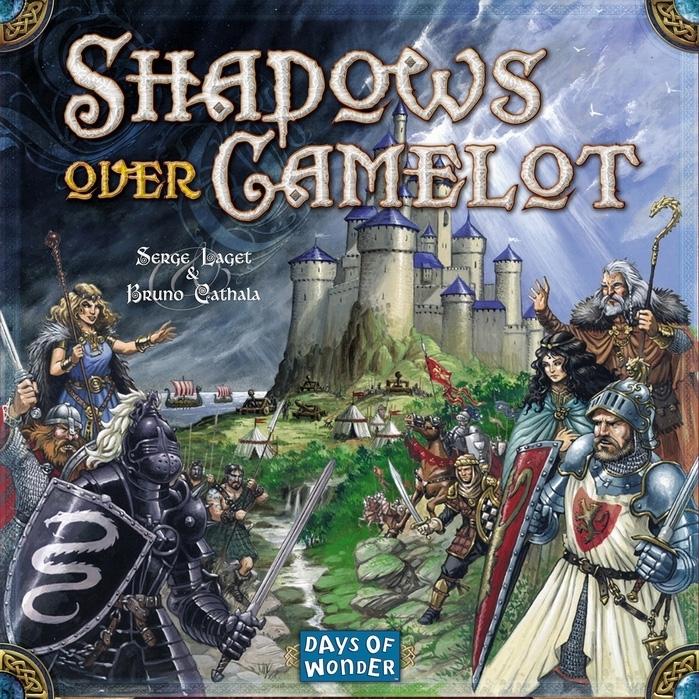 middeleeuwen spel bord shadows camelot